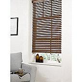 Hamilton McBride Faux Wood Venetian Blind 150 x 160cm Walnut