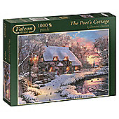 Falcon de luxe The Poet's Cottage 1,000 piece Jigsaw Puzzle