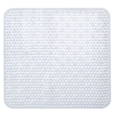 Sabichi Clear PVC Square Shower Mat