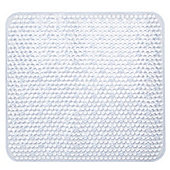 Sabichi Clear PVC Square Shower Mat