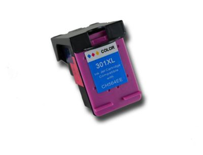 Colour HP 301 XL Chipped Compatible ink cartridge CH562EE CH564EE for HP Photosmart