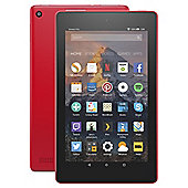 Amazon Fire 7 Tablet with Alexa Assistant 7 inch 16GB with Wi-Fi (2017) -  Punch Red