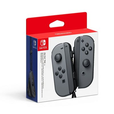 Switch Joy Con Controller Pair - Grey