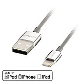 LINDY 41575 CROMO Slim USB to Lightning Cable. 1m