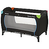 Hauck Travel Cot Multi-Black Exclusive
