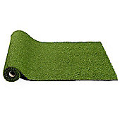 Outsunny 25mm Pile Height Artificial Lawn Grass Synthetic Turf (10 x 3ft (1 pc))