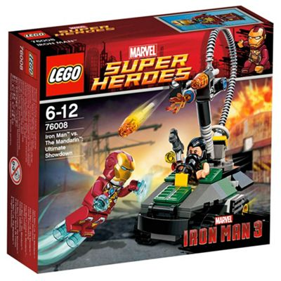 LEGO Super Heroes Iron Man vs The Mandarin: Ultimate Showdown 76008