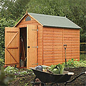 8 x 6 Deluxe Security Tongue & Groove Wooden Shed (12mm T&G Floor) (8ft x 6ft)
