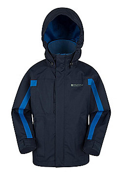 Mountain Warehouse Samson Waterproof Jacket - Blue