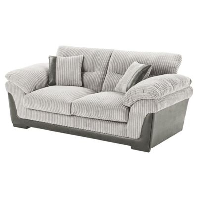 Kendal Jumbo Cord Sofabed, Light Grey
