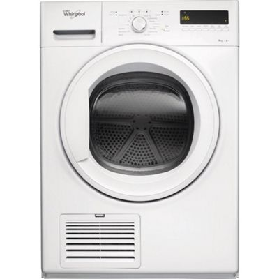 Whirlpool DDLX80114 8kg Condenser Tumble Dryer, White