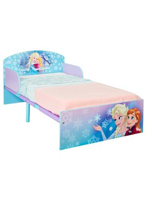 Disney Frozen Toddler Bed & Deluxe Foam Mattress