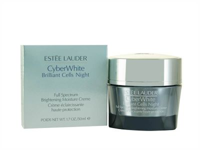 Estee Lauder Cyber White Brilliant Cells Night Full Spectrum Brightening Moisture Creme 50ml