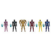 Power Rangers Movie Action Figure 6 Pack