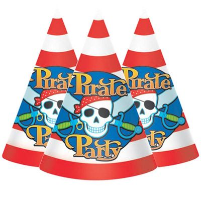 Pirate Party Cone Hats
