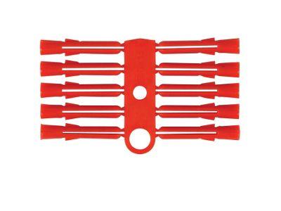 Basic 010759 Wall Plugs Red 6/10 X1000