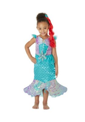 Disney Princess Ariel Dress-Up Costume 5-6 years Turquoise