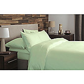 Belledorm Brushed Cotton Pillowcases - Green