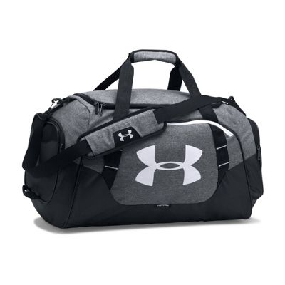 Under Armour Storm Undeniable 3.0 Medium Duffel Sports Bag - Grey