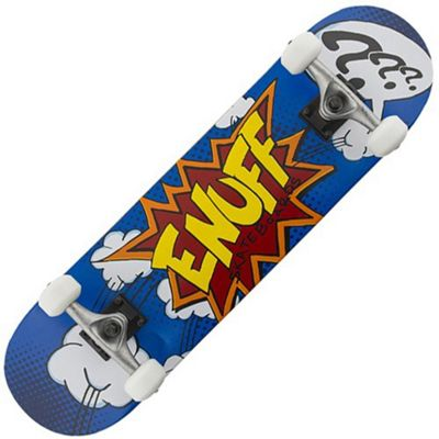 Enuff Pow Blue 7.75inch Complete Skateboard