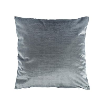 Homescapes Luxury Grey Velvet Cushion Cover, 45 x 45 cm