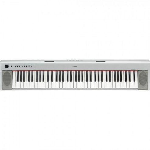Yamaha NP31S Electronic Keyboard in Silver