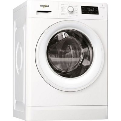 Whirlpool FWG71484W - 1400rpm Washing Machine 7kg Load - A+++ Energy Rating, White