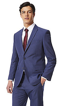 F&F Regular Fit Suit Jacket - Blue