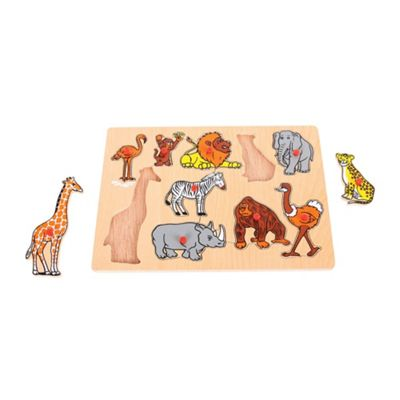 Bigjigs Toys Jungle Lift Out Puzzle