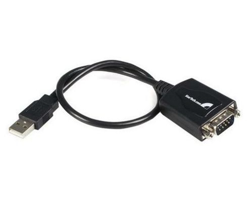 StarTech USB to RS-232 Adaptor with COM Retention - Serial Adaptor - USB - RS-232 - 1 ft