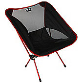 Trail Ultra-Light Aluminium Camping Chair (1kg) Red