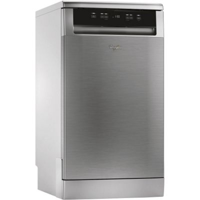 Whirlpool ADP301IX 10-Place Slimline Dishwasher, Stainless Steel