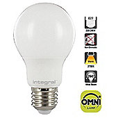 Integral LED Classic Globe (GLS) Omni-Lamp LED Light Bulb 8.2W (60W) 2700K Warm White E27