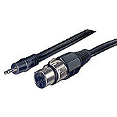 Stagg Mini Jack to XLR Microphone Cable - 1m