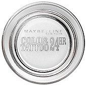 Maybelline Color Tattoo 24hr Eyeshadow 4g - 45 Infinite White