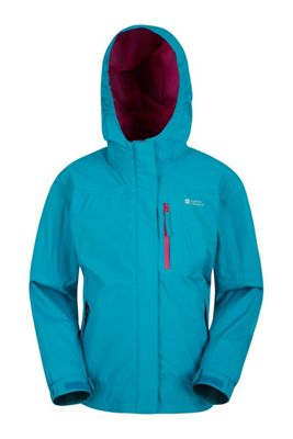 Mountain Warehouse Luna Kids Waterproof Jacket ( Size: 13-14 yrs )