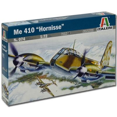 Italeri Me-410 Hornisse 074 1:72 Aircraft Model Kit