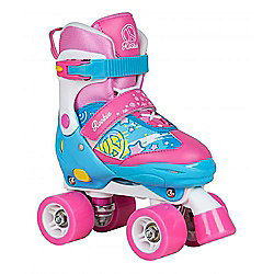 Rookie Fab Junior Childrens Quad Adjustable Roller Skates - Blue