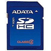 ADATA AUSDH4GCL4-RA1 4GB MicroSDHC Class 4 memory card