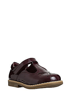 F&F Butterfly Patent T-Bar Shoes - Purple