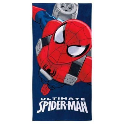 Disney Spiderman beach towel