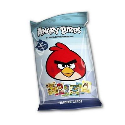 Angry Birds Trading Cards Game - FIVE PACKS