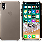 """Apple MQT92ZM/A 5.8"""" Skin case Taupe mobile phone for iPhone x - Beige"""