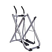 Homcom Air Walker Exercise Machine Folding Strider Legs and Thigh Exercise Toner Cross Power Machine w/ Monitor