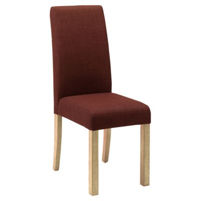 Originals Harlequin Chair with Natural Legs in Chocolate (Set of 2)