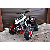 Kids Quad Bike - 150cc Quad Bike Red - Hawkmoto Tomahawk CVT