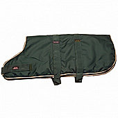 Outhwaite Waterproof Dog Coat Padded Lining - Green 50cm