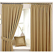 Marlowe Natural Pencil Pleat Curtains 229x183cm