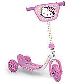 Hello Kitty OHKY006 Three Wheel Scooter.