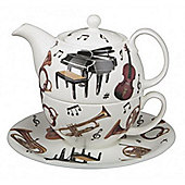 Roy Kirkham Tea for One Set, Concert, Musical Instrument Design